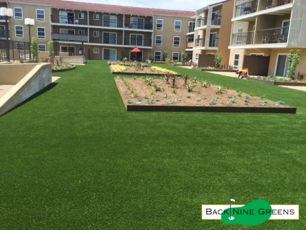 commercial noteworthy installations of artificial grass in Southern California